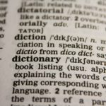 Basic glossary for preppers